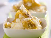 Kokosreis mit gebratenen Bananen Rezept