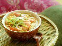 Kokossuppe mit Garnelen Rezept