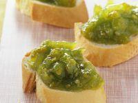 Konfitüre aus grünen Tomaten Rezept