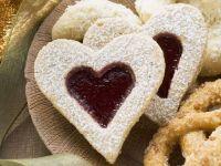 Konfitüre-Herzen Rezept