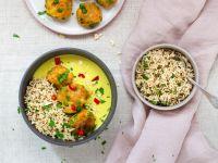Korma-Gemüse-Bällchen Rezept