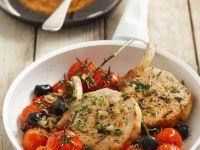 Koteletts mit Tomaten Rezept