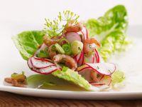 Krabben-Radieschen-Salat Rezept