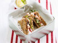 Krabben-Sandwich Rezept