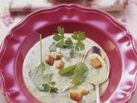 Kräuter-Gemüse-Suppe aus der Schweiz Rezept