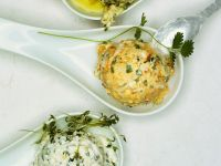 Kräuter-Käsebällchen Rezept