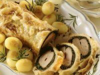 Kräuter-Lammrücken in Blätterteig Rezept