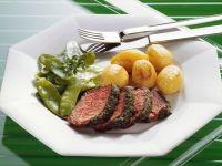 Kräuter-Rinderlende mit Kartoffeln Rezept