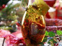 Kräuteröl mit Pilzen Rezept