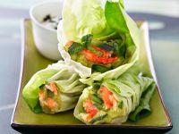 Krebssalat im Salatmantel Rezept