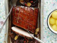 Krustenbraten vom Schwein mit asiatischen Gewürzen Rezept