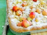 Kuchen mit Stachelbeeren