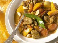 Kürbis-Curry mit Lamm Rezept