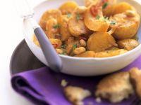 Kürbis-Kartoffelcurry Rezept