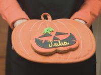 Kürbis-Keks zu Halloween Rezept