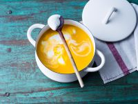 Kürbis-Kokosmilch-Suppe Rezept