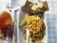 Kürbis-Linsen-Salat