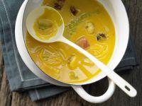 Kochbuch für Kürbissuppe