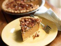 Kürbis-Nuss-Pie nach amerikanischer Art