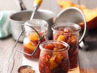 Kürbis-Orangen-Chutney Rezept