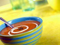 Kürbis-Tomatensuppe Rezept