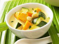 Kürbis-Zucchini-Suppe nach vietnamesischer Art Rezept