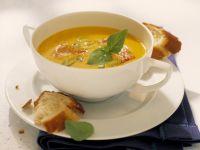 Kürbissuppe mit Ingwer Rezept