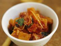 Kürbisgemüse mit Chorizo Rezept