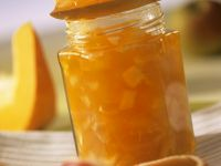 Kürbiskonfitüre mit Äpfeln Rezept