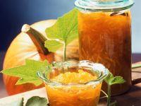 Kürbiskonfitüre mit Zitrusfrüchten Rezept