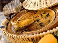 Kürbiskuchen mit Speck Rezept