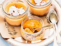 Kürbiskuchen mit Spekulatius und Ricotta Rezept