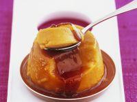 Kürbispudding mit Karamellsoße Rezept