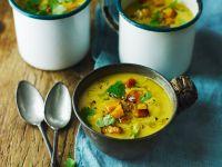 Kürbissuppe mit Birne Rezept