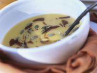 Kürbissuppe mit Frischkäse Rezept