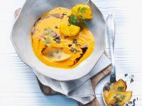 Kürbissuppe mit Hokkaido und Patisson Rezept