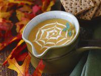 Kürbissuppe zu Halloween Rezept