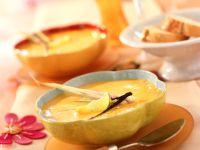 Kürbissuppe mit Vanille und Zitronengras Rezept