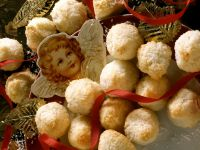 Kugelrunde Kokosmakronen Rezept