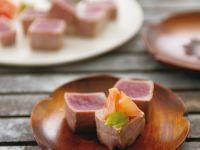 Kurzgebratener Thunfisch Rezept