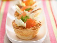 Lachs-Blätterteigtörtchen mit Fenchel Rezept