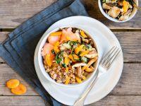 Lachs-Bowl mit reis-fit Feelgood Bohnen, Chia mit Quinoa & Gemüse Rezept