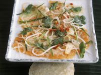Lachs in Marinade mit Gurke und Koriander auf vietnamesische Art Rezept
