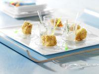Lachs-Kartoffel-Würfel mit Meerrettich-Creme Rezept