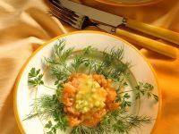 Lachs mit Gurken Rezept