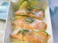 Lachs mit holländischer Soße und Limetten Rezept