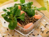 Lachs mit Linsen Rezept