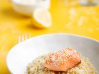 Lachs mit Quinoa Rezept
