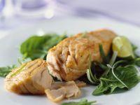 Lachs mit Spinat Rezept