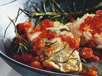 Lachs mit Tomaten Rezept
